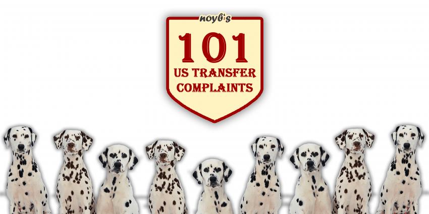 101 complaints