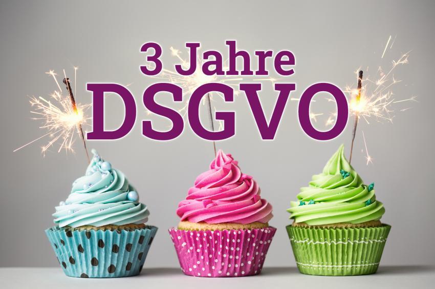 3 Jahre DSGVO